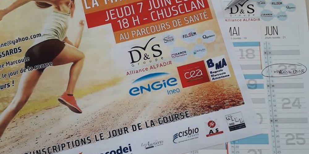 Le Groupe D&S, partenaire de La Marcoulienne