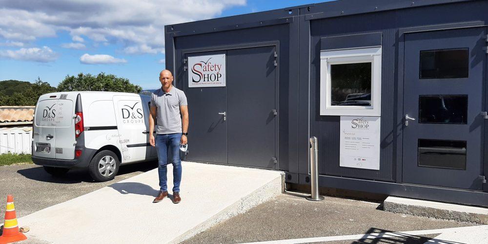 Nouveaux locaux pour le SafetySHOP Bagnols